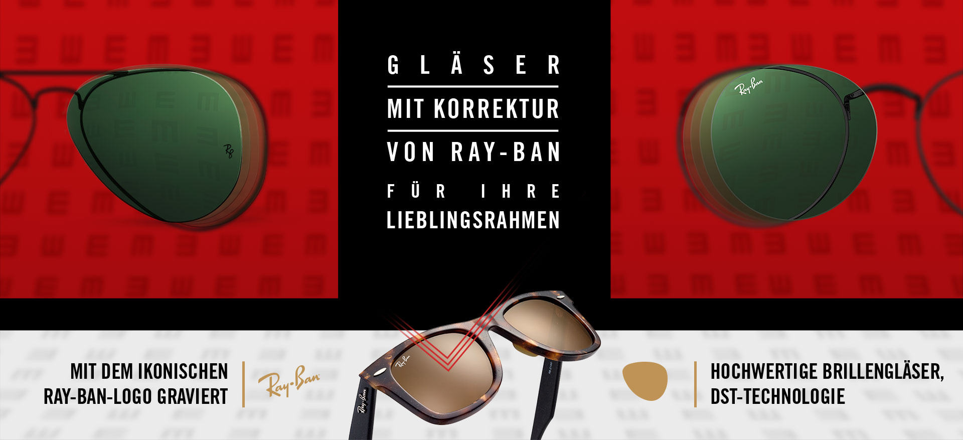 Ray-Ban Sonnenbrillen mit Sehstärke