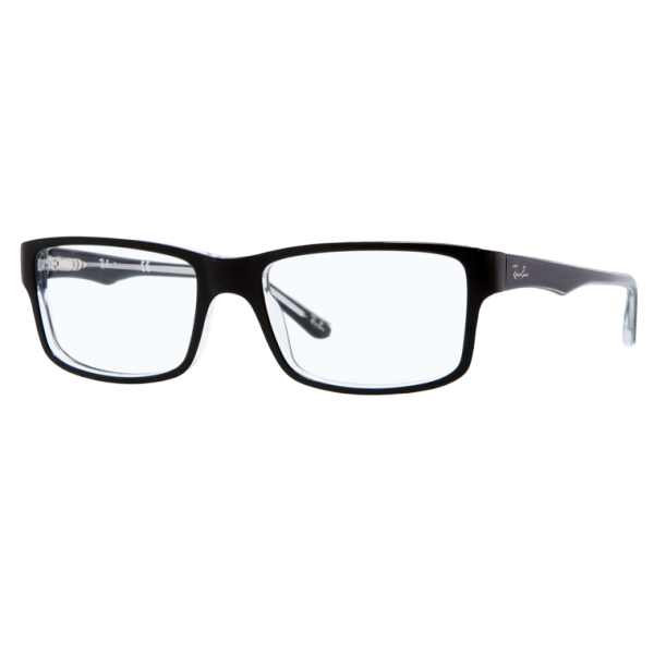 Rimless Transparent Eyeglass Frames : Ray Ban Brillen Fassung RB 5245 2034 54/17